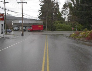 Sooke and Church Road intersection